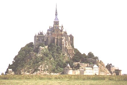 Der Mont St. Michel in der Normandie